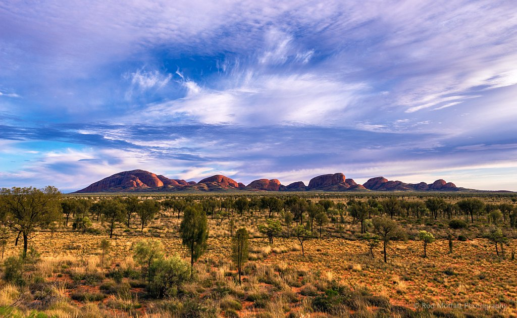 Dawn over Kata Tjuta