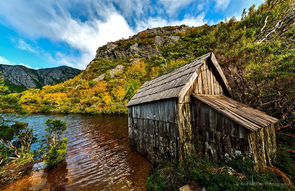Old Boathouse, Shores of Crater Lake